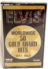 ELVIS PRESLEY Worldwide 50 Gold Award Hits Vol 1 No. 2 CASSETTE TAPE-New/Sealed