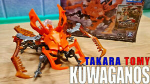 *UK Seller* Zoids KUWAGANOS (ZW37) - Official Takara Tomy - Toy Figure NEW BOXED