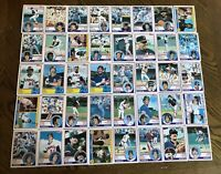1983 CALIFORNIA ANGELS Topps Complete MLB Team Set 40 Cards JACKSON CAREW JOHN!