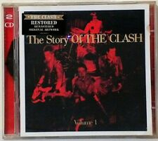 THE CLASH~THE STORY OF THE CLASH VOL.1~ 2 CD ALBUM~VG+