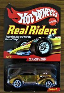 Hot Wheels RLC  Real Riders Classic Cord Series 9
