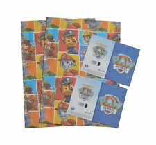 Paw Patrol wrapping paper (gift wrap) &  tags
