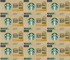Starbucks Bright Sky Blonde Light Roast K Cups 120 COUNT Best Before August 2020