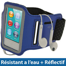 Bleu Brassard Armband pour Nouveau Apple iPod Nano 7ème Gén 7G 16GB