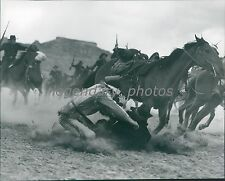 1950 Two Flags West Original Press Photo Linda Darnell Joseph Cotton
