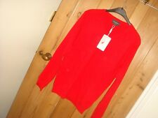 eric bompard designer pure cashmere sweater jumper mens brand new red medium