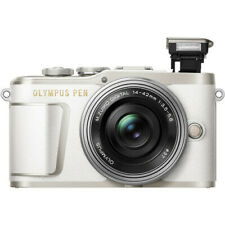 Olympus PEN E-PL9 Mirrorless Digital Camera with 14-42mm Lens (White)