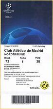 Sammler Ticket VIP Borussia Dortmund - Atletico Madrid Champions League 2018/19