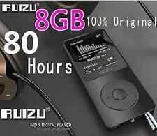 100% Original RUIZU X02 MP3 Player With 1.8 Inch Screen Can Play 100 hours, 8gb