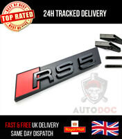Audi RS5 Gloss Black Grille Badge