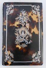 Carnet De Bal , Décor en Argent Et Or Ciselé De Fleurs, Phoenix, époque XIX