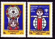 Syrien Syria 1979 ** Mi.1433/34 Jahr des Kindes Year of the child