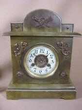 GERMAN MANTLE / TABLE CLOCK 1900