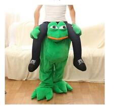 Piggy Back Ride On Mascot Fancy Dress Party Costume Carry Me Frog Funny Pants