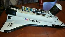 Super rare space shuttle discovery/Columbia nasa motorized &space hubble work