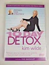 """Michael Van Straten's 10 Day Detox"" with Kim Wilde DVD Excellent Condition"