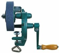 """4"""" Hand operated grinding grinder bench mounted stone Jewellery watch maker Tool"""