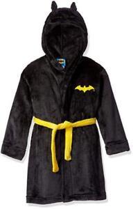 Batman Boys Gray Hooded Costume Robe Size 2T 3T 4T 5T XS S M L