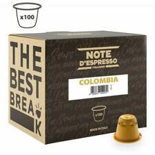 Note D'espresso Capsule de Café Colombia compatible Machine Nespresso
