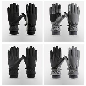 Snow Gloves Snowboard Thermal Thick Touchscreen Unisex Warm Waterproof