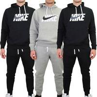 Nike Mens Fleece Tracksuit Joggers Graphic Track Suit Hoody Top Hoodie Set
