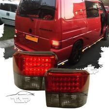 REAR TAIL LED LIGHTS RED-SMOKE FOR VW BUS T4 90-03 MULTIVAN TRANSPORTER