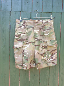 BRITISH MTP PATTERN SHORTS - 31 1/2 INCH WAIST