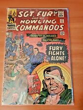 SGT. Fury and his Howling Commandos #27 VG- / Origin of Eye Patch