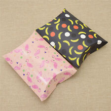 10pcs Flamingo Pillow Shaped Candy Box Party Favours Wedding Accessories Paper