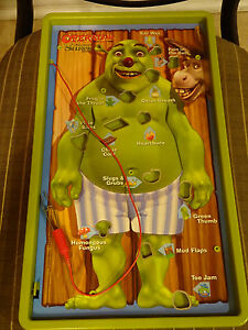 Operation Shrek  Game Board Operating Table Only Replacement Part