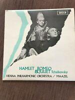 TCHAIKOVSKY : ROMEO & JULIET/HAMLET - DECCA SXL 6206 STEREO