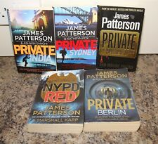 James Patterson x5 Books Private Series  - Private India Sydney Berlin NYPD Red