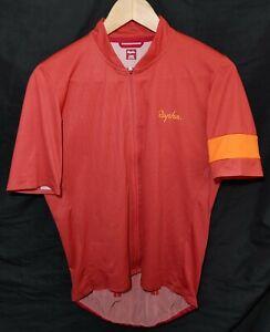 Rapha Flyweight Jersey Lines Orange Size Large Unisex Adult (See measurements)