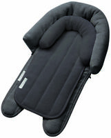 Playette 2 in 1 Head Support Charcoal Plush padding provides extra support