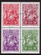 Francobolli australiani e oceaniani 4 francobolli