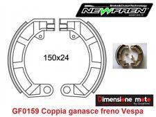 0159 - CP Ganasce Freno Posteriori NEWFREN per PIAGGIO Vespa PK 50 SS dal 1983