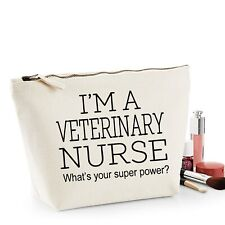 Veterinary Nurse Thank You Gift Women's Make Up Accessory Bag Mothers Day