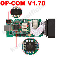 OPCOM V1.78 Auto OBD2 CAN BUS Diagnostic Scannner OP COM 1.78 For Opel Upgrade
