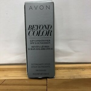 AVON BEYOND COLOR LIP CONDITIONER SPF-15 SUNSCREEN NEW