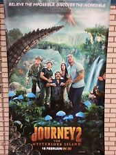 Large movie banner / poster - Journey II / The Mysterious Island  (200x150 cm.