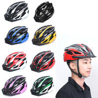 Men's Ladies Adult Bicycle Helmet BMX Sport Cycling Mountain Bike AdjustableD$N