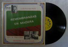 LUIS ALONSO POLIO Remembranzas En Madera DICESA Marimba Sonora El Salvador Vinyl