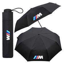 BMW M Sport Umbrella Car Black Folding Large Quality Brolly Gift Winter Pocket 1