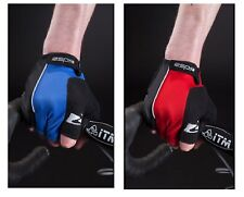 Raleigh RSP Race Mitt Mitts Race Cycle Bike Bicycle Gloves Padded Black Blue Red