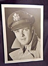 Vintage Signed Autographed Studio Postcard Hollywood Movie Robert Sterling Wow