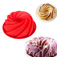 Bundt Swirl Silicone Butter Cake Pan Mold Bread Baking Mould Bakeware