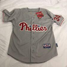 Roy Halladay #34 Philadelphia Phillies Baseball Jersey 48 XL Philly Authentic