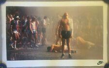 "VTG NIKE Battle of Atlanta 1978 Running Poster Chuck Rogers Peachtree 22"" x 36"""