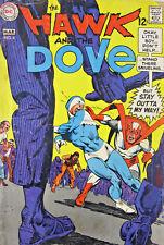 The Hawk and the Dove 1969 #4 DC Silver Age Comics VG 4.0