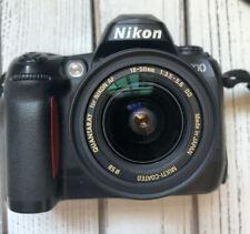 Nikon D D100 6.1MP Digital SLR Camera Black w/ 18-50mm Lens Battery & Charger